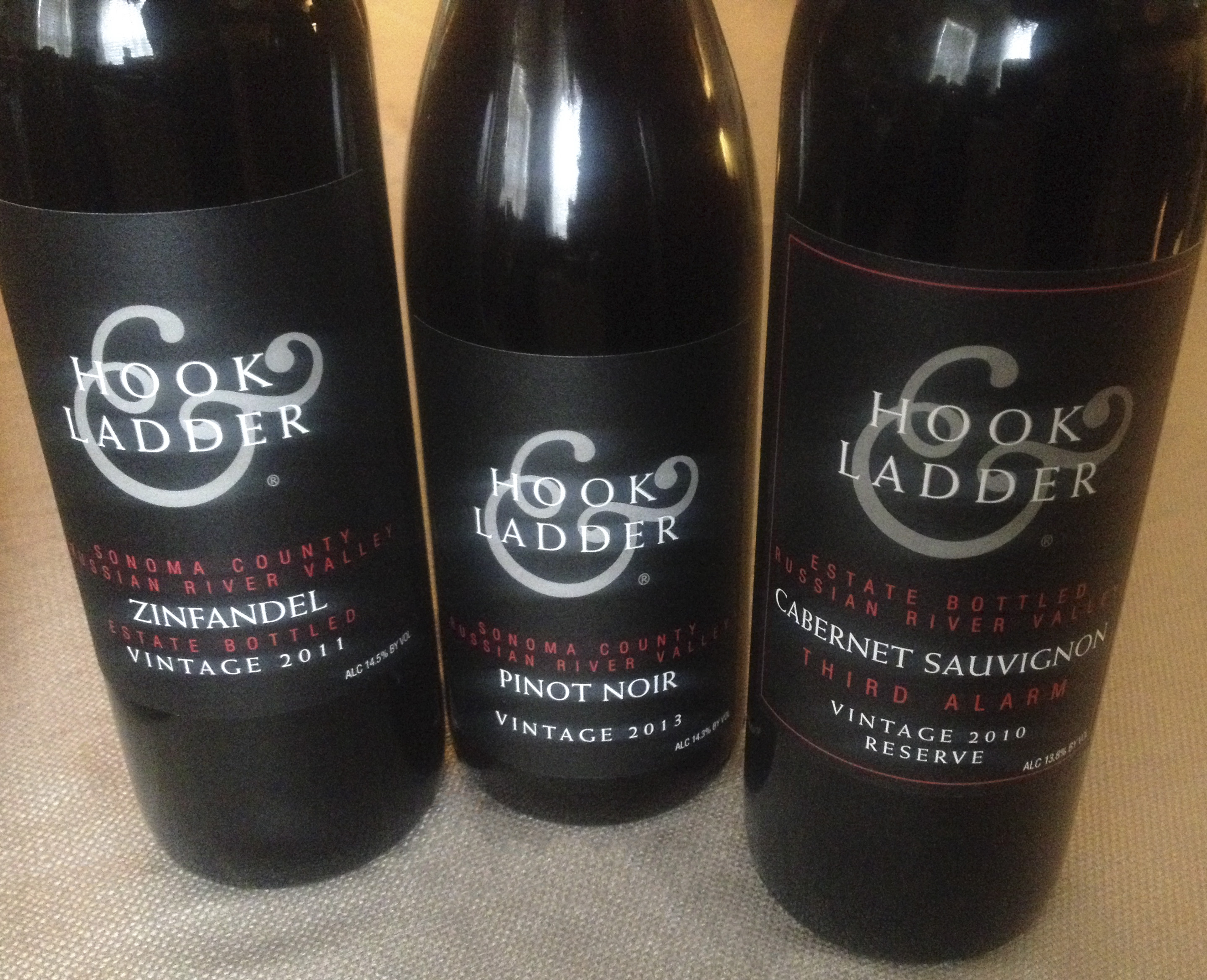 Hook and Ladder Winery Favorites