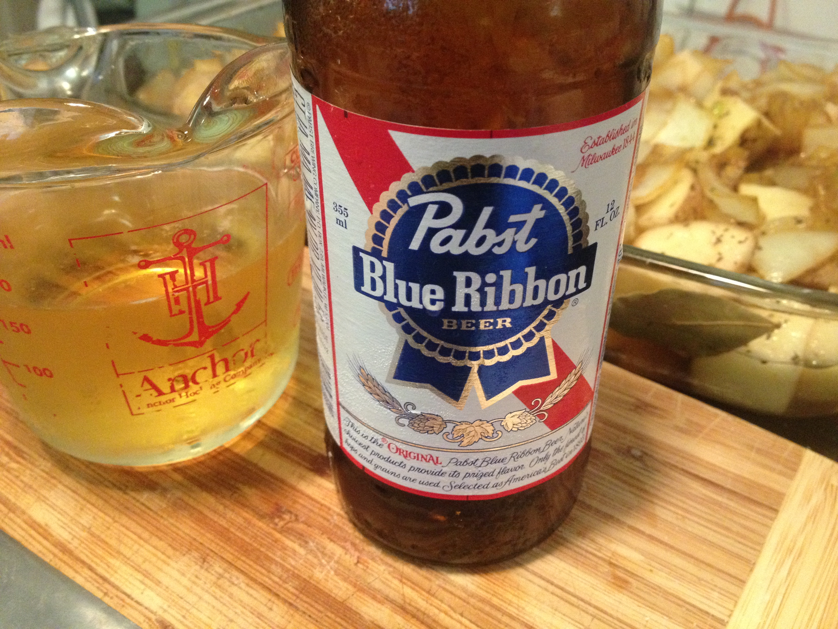 If you haven't cooked with PBR you are missing out!