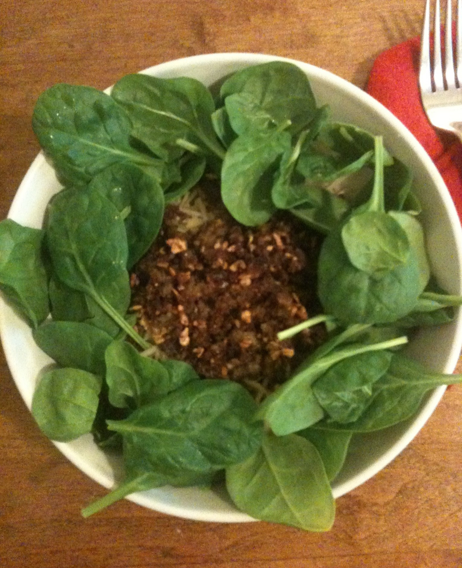 Recipe : Gluten Free Pasta with Fresh Spinach and Sausage