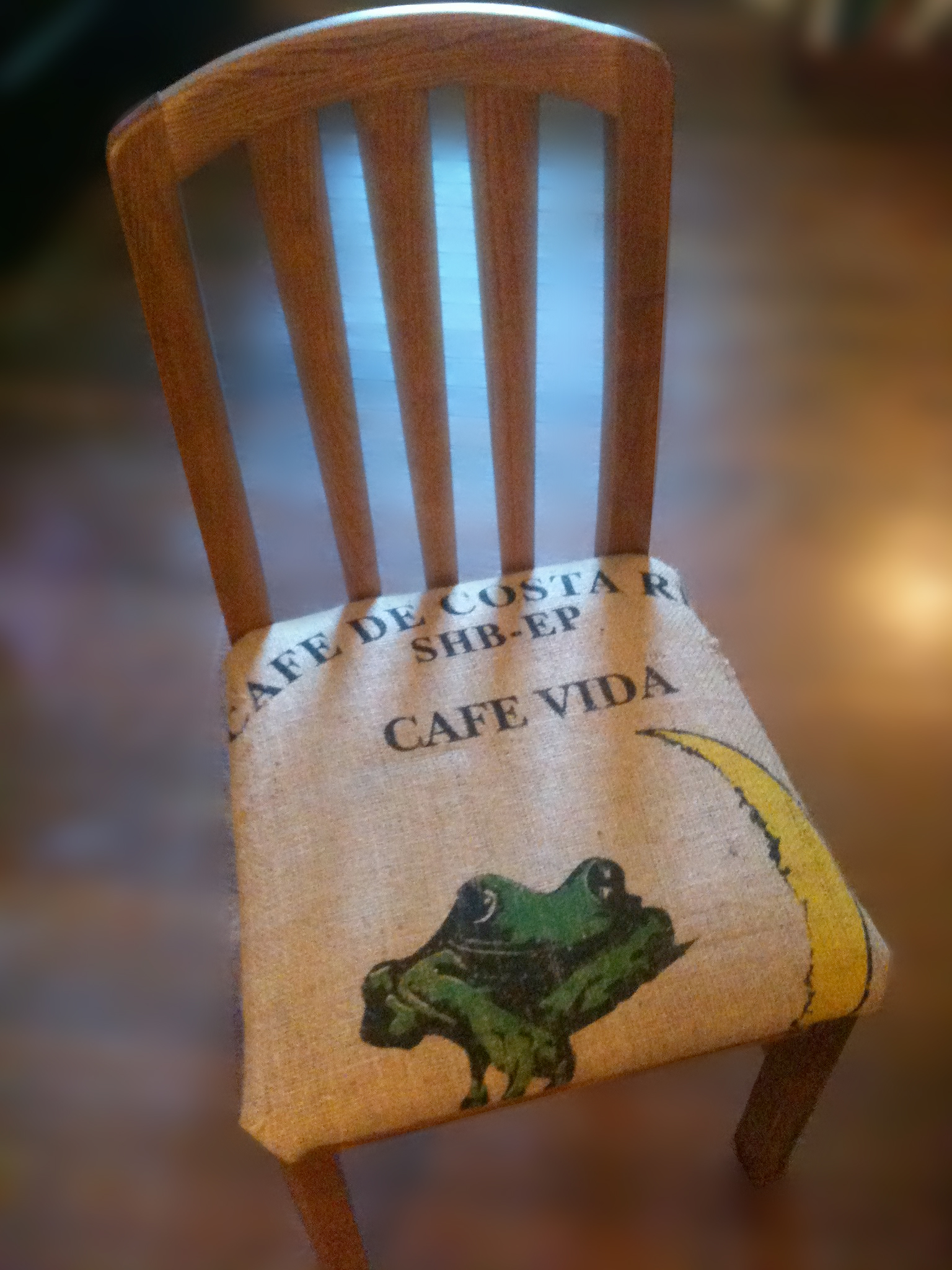 DIY : The Caffeinated Chair