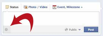 New 'Clock' icon for Facebook Scheduling