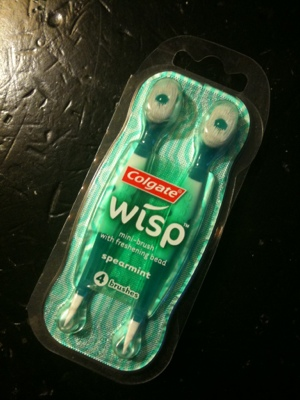 Review : Colgate Wisp