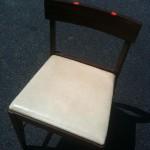 danielle hatfield's goodwill drab to fab chair before