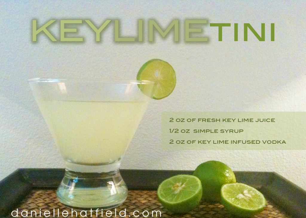Danielle Hatfield's Key Lime Tini
