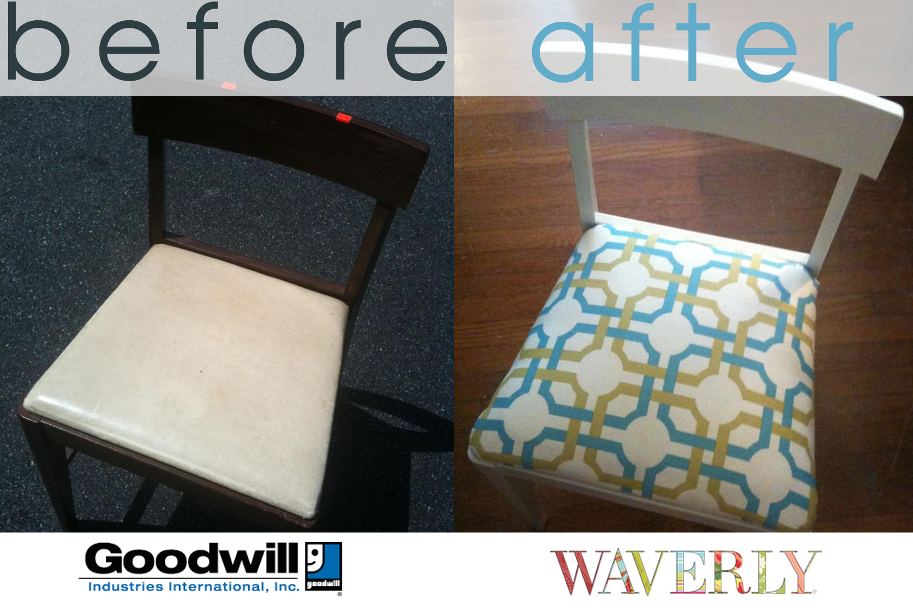 diy drab to fab goodwill makeover waverly style danielle