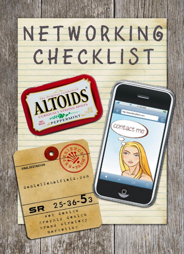 Danielle Hatfield's Networking Checklist