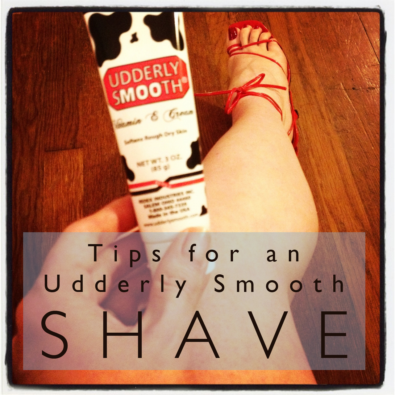 Tips for an Udderly Smooth Shave