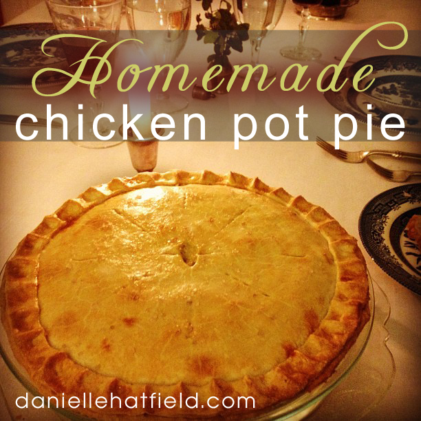 Recipe: Homemade Chicken Pot Pie