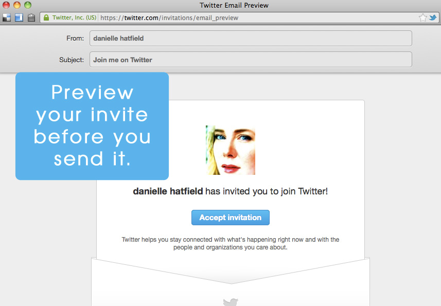 Twitter-Invite-Preview