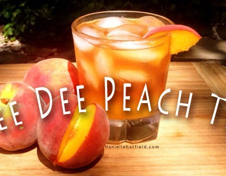 Recipe : Pee Dee Orchard Peach Tea