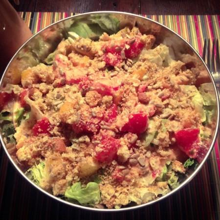 Recipe: Two tomato salad