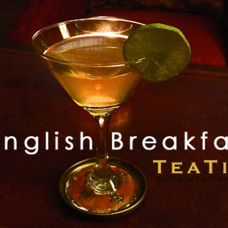 Recipe: English Breakfast TeaTini
