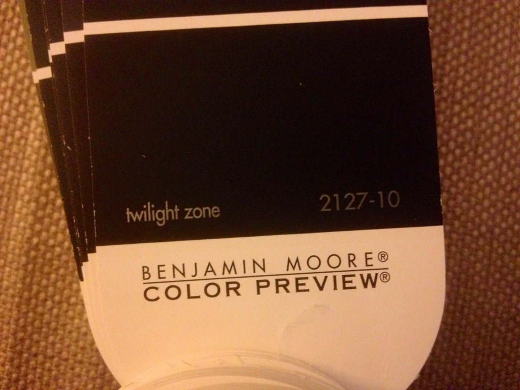 Benjamin Moore Paint: Twilight Zone