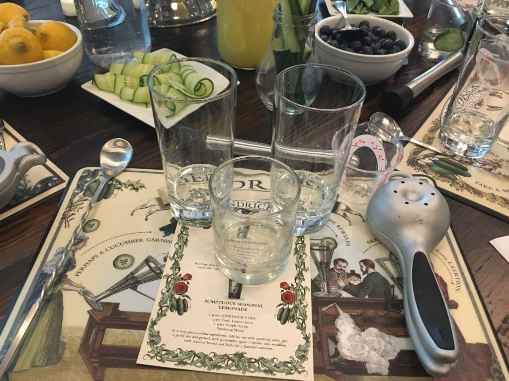 Hendrick's Gin Cocktail Academy with Central & Southern U.S. Brand Ambassador Fred Parent