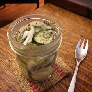 Danielle Hatfield's easy refrigerator pickles