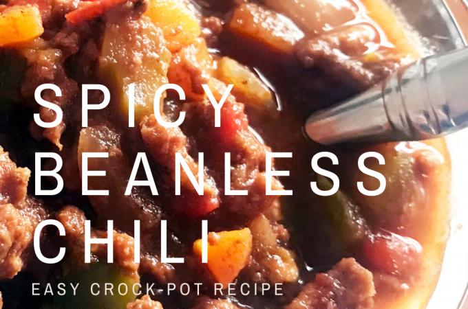 Danielle Hatfield's Spicy Beanless Chili recipe