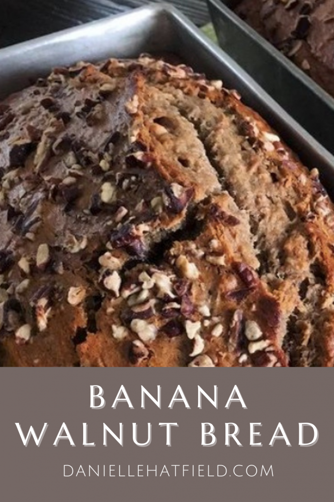 Banana Walnut Bread and Muffin Recipe | Danielle Hatfield