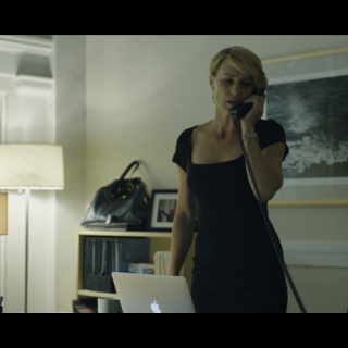 House of Cards: Claire Underwood's Wardrobe in Patterns